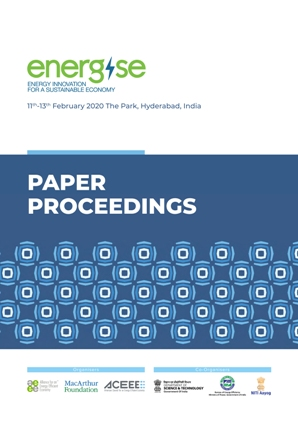 Energise Proceedings cover page