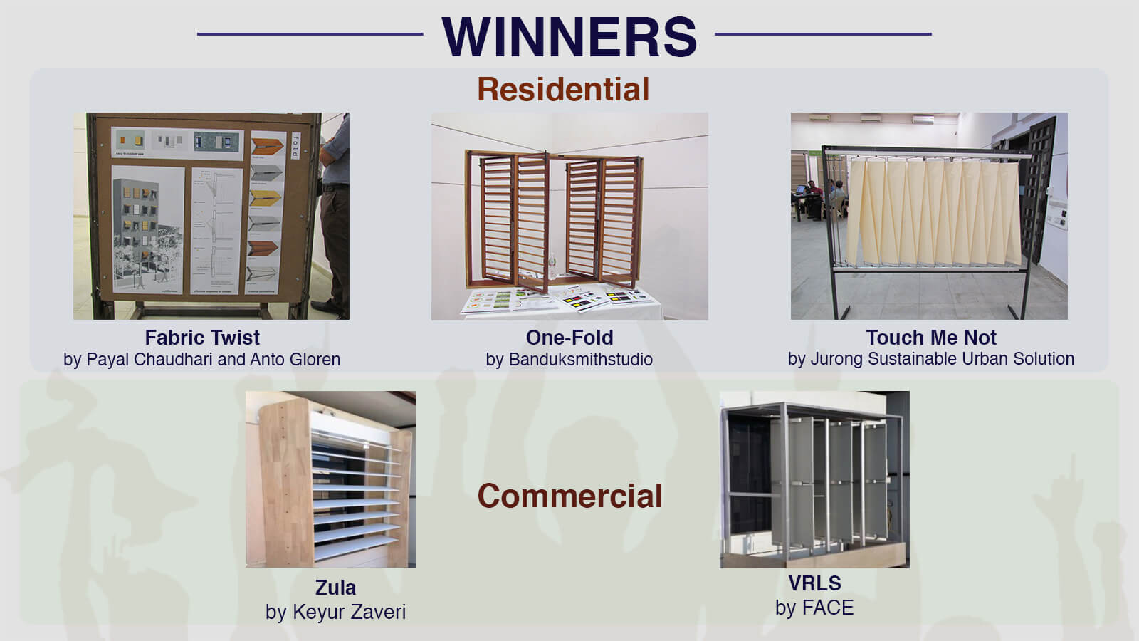National Design Competition winners