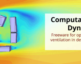 On the way to easy accessible calculation methods with Computational Fluid Dynamics (CFD) freeware for optimisation of natural ventilation in dense urban context in India
