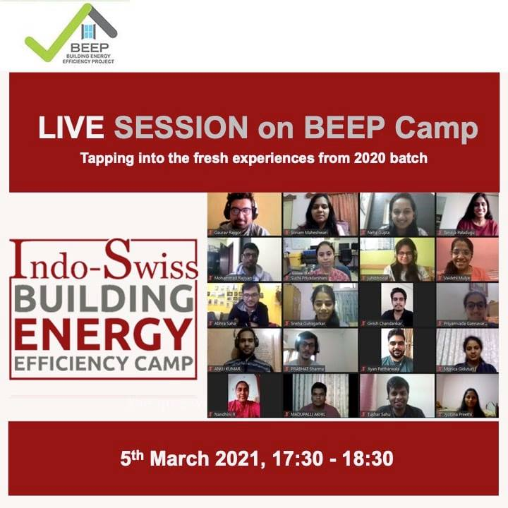 Live session on BEEP Camp (BEEP Camp participants share their experiences)